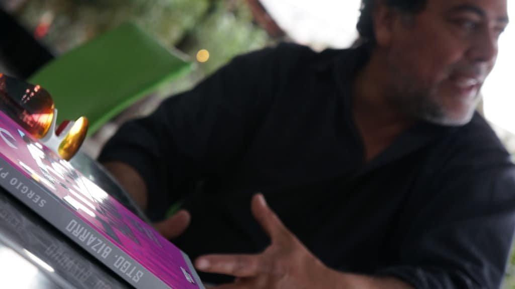 Sergio Paz, durante la entrevista.