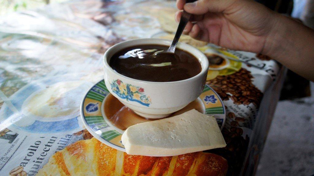Dulce y salado: Chocolate Santafereño