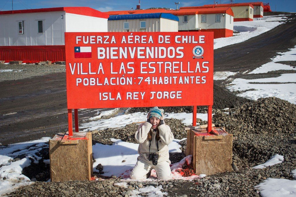 Villa Las Estrellas, Isla Rey Jorge, Antártida. Foto: Marianne Klock