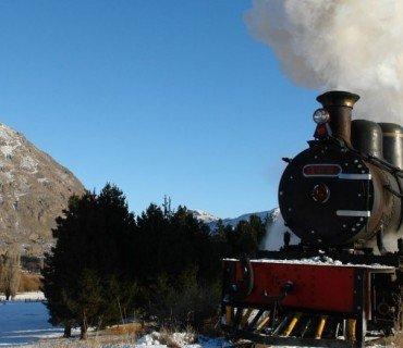 La Tronchita, el viejo expreso que recorre la Patagonia con aires de leyenda