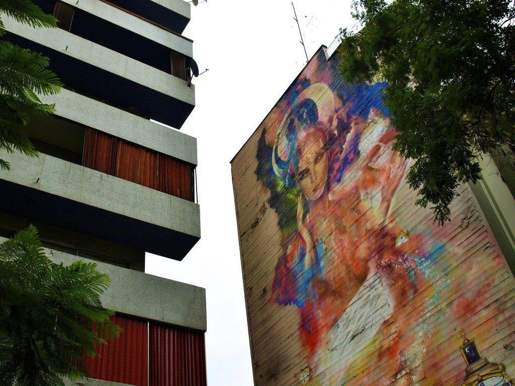 Mural en la calle Mosqueto. / © A. F. Reca / Ruta-B