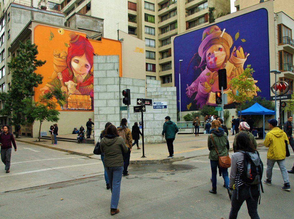 Murales de INTI en Bellas Artes. / © A. F. Reca / Ruta-B