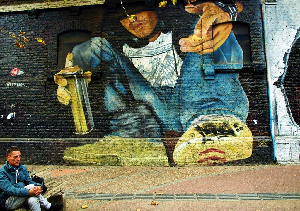 Arte Urbano en Bellavista. / © A. F. Reca / Ruta-B