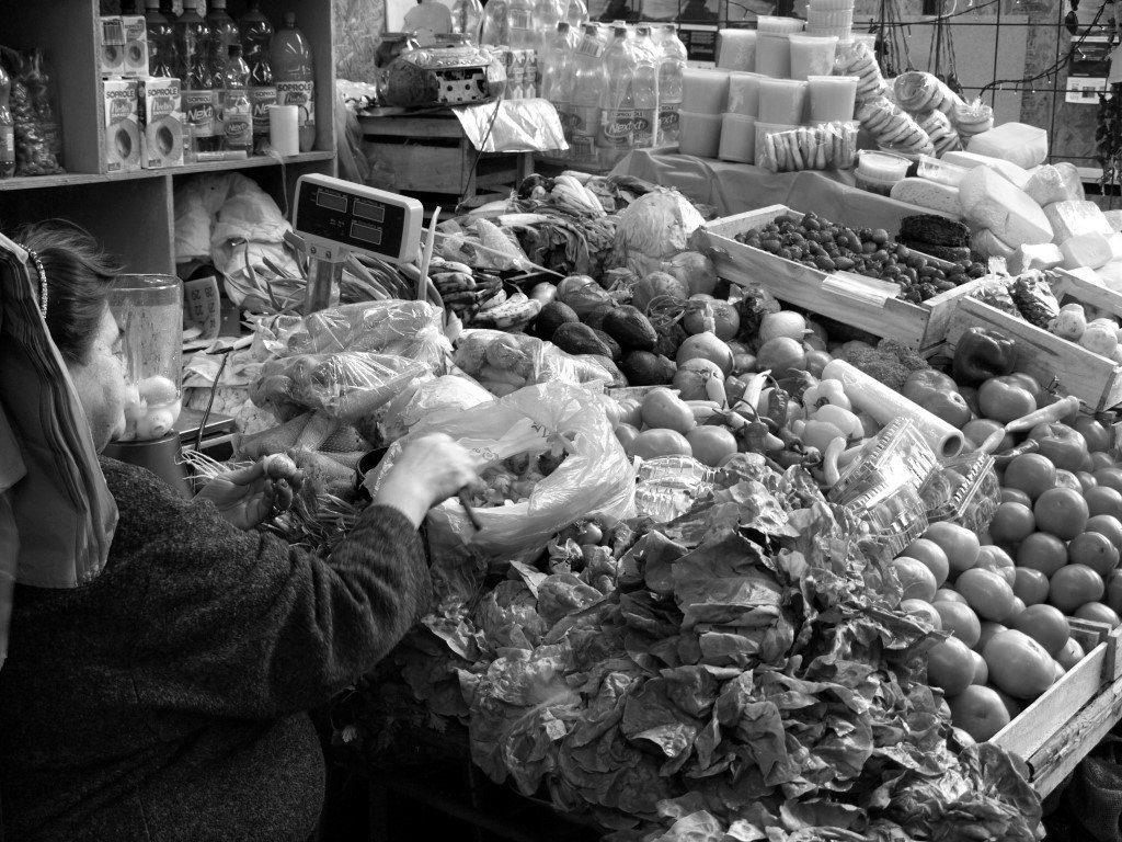 Mercado tradicional de Castro. / © A. F. RECA