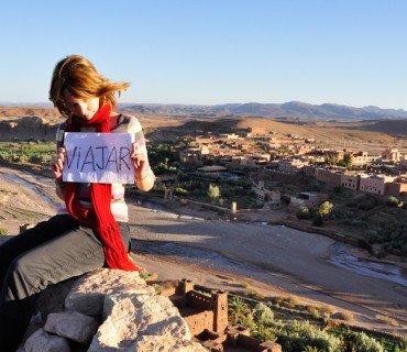 Aniko Villalba y su combinación (casi) perfecta: vivir viajando